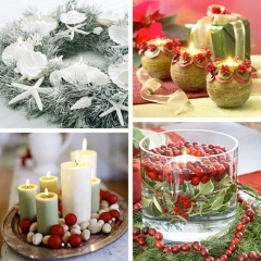 Christmas ribbons invade your kitchen