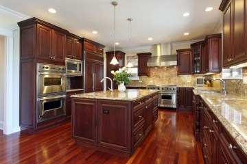 Contact hardwood flooring manufacturers for your open kitchen.jpg