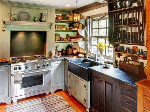 Design a Kitchen with Recycled Materials Picture