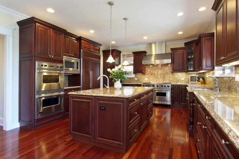 Contact Hardwood Flooring Manufacturers for Your Open Kitchen